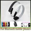 FEDEX Free Fashion Music Bluetooth Wireless Headset Stereo Audio Headphone with mic ,PC ,MP3 MP4, for Android phone, ios iphone AOX-A058