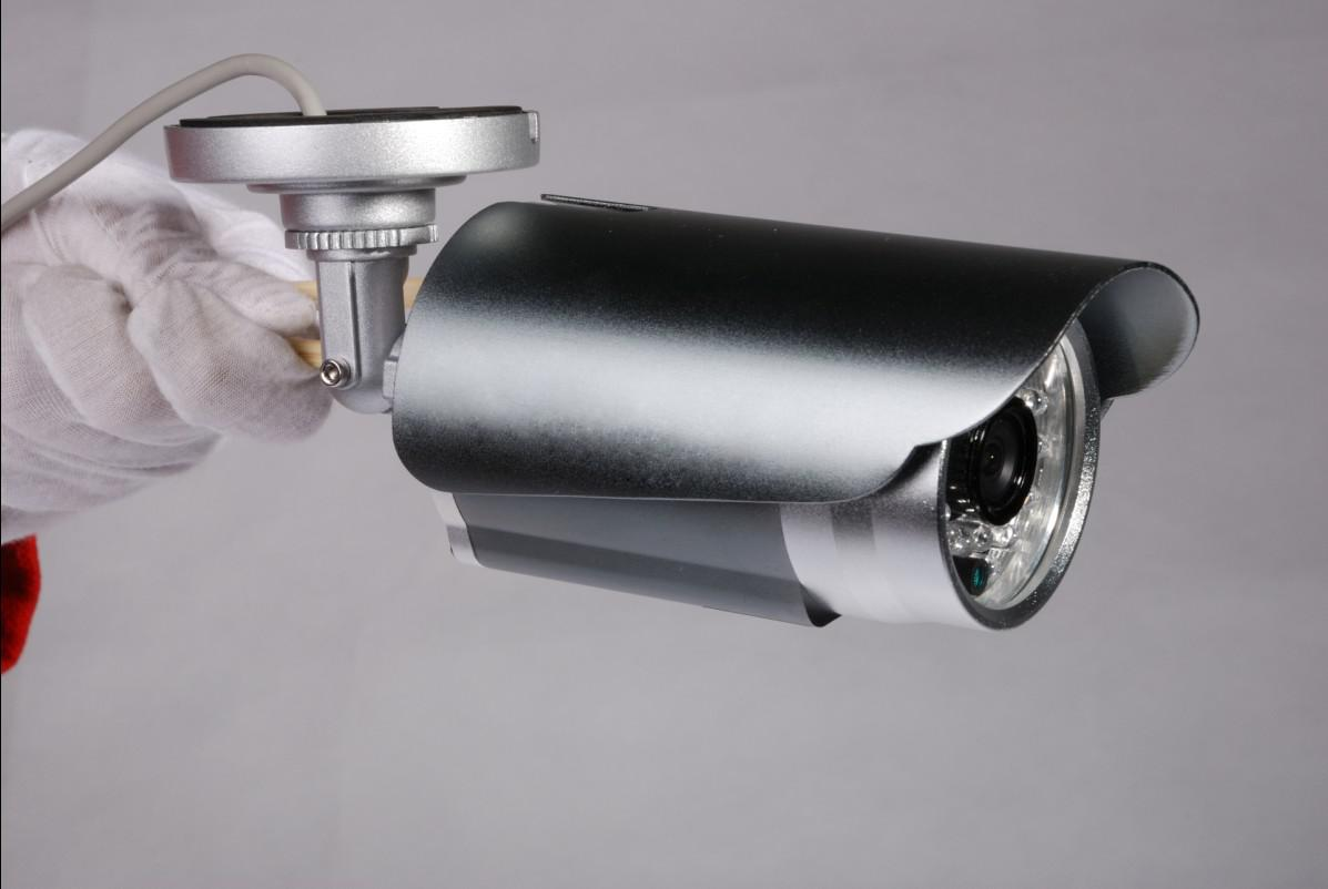 Security CCTV Color Sony 480TVL infrared CCD IR camera IR Leds with all in one bracket with wide angle lens