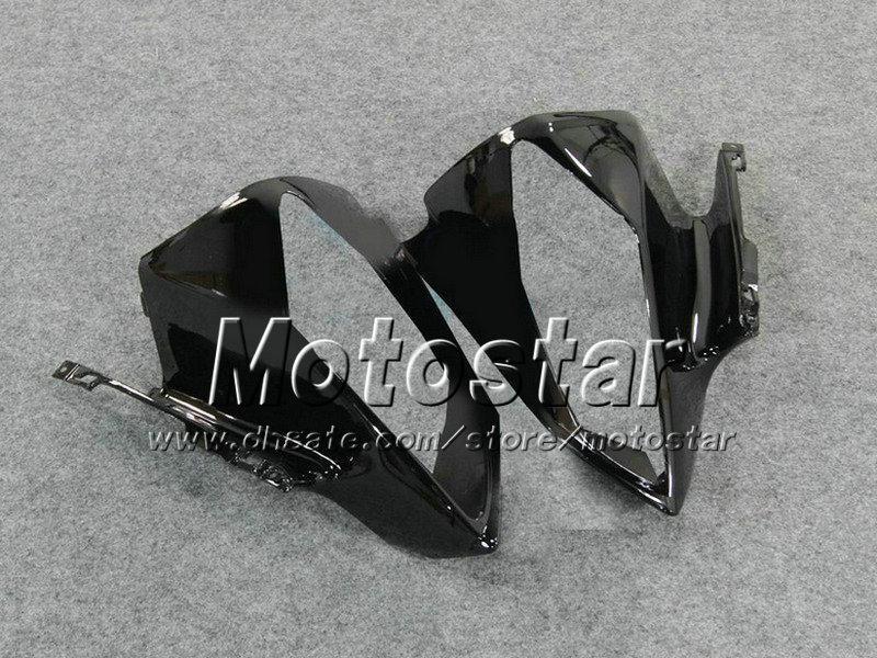 Высокое качество черный синий кузов набор для YAMAHA YZF-R6 2008 2009 2010 YZFR6 обтекатель комплект YZF R6 YZFR600 08 09 10 ABS обвесы Vf36