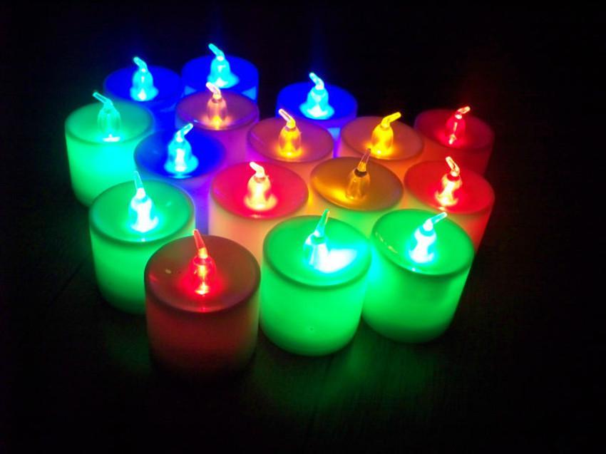 2019 Christmas Flameless Led Candle Light Romantic