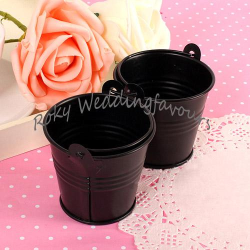 2019 Dhl Black Mini Pails Wedding Favorsbaby Favorsmini Bucket
