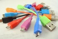 ingrosso i prezzi delle fabbriche dei cellulari-Colorful 10 centimetri cavo di ricarica dati USB Micro Pin 5Pin per cellulare per Samsung S4 / I9500 / i9300 / i9220 cavo dati USB Stock Prezzo di fabbrica