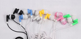 Wholesale Earphone For Iphone 5g - Stereo Earphone for iPhone5S 5C 5G iPod small Universal Earphone no mic no volume control 100pcs lot