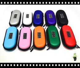 Wholesale E Cig L Kit - High quality colorful eGo zipper case for e caigarette e cig Electronic Cigarette kit SIZE S,M,L free shipping