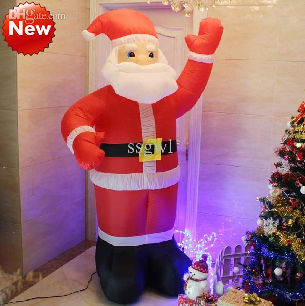 inflatable christmas gifts christmas santa claus inflatable doll 35m 24m 21m 18m santa claus gifts cute inflatable santa claus santa claus inflatable - Outdoor Christmas Inflatables