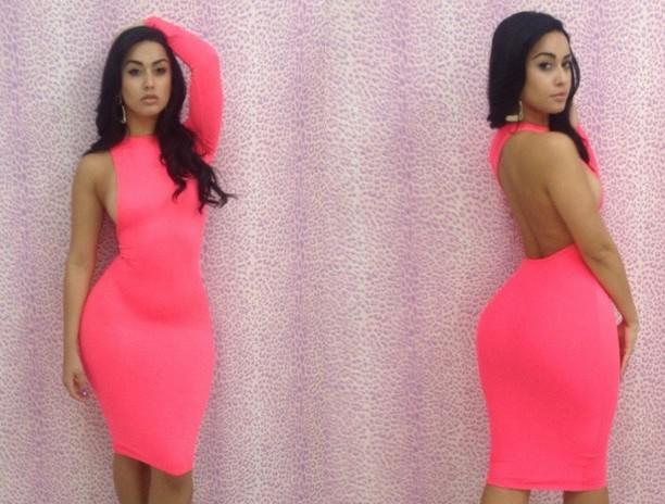 2017セクシーなファッション女性のドレスパーティープロムクラブの着色シースドレス夏の鉛筆ドレスレディース背中のドレスワンショルダースリーブスカートYD9