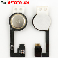 Precio de Iphone 4s Home Button Flex Key-Para el iPhone 4S Inicio Botón Flex Cable Return Cable Clave Partes Con 3M Etiqueta Para iPhone4S 4GS