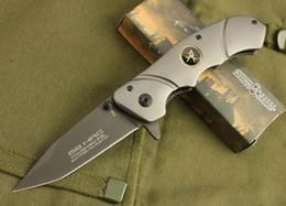 knife sog fixed 2019 - EXTREMA RATIO Folding Fast Opening Pocket Knife F38 pocket knife BROWNING hunting knives SOG fixed multi tool folding kn