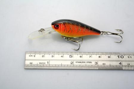 LOT30 Fiske Lure Crankbait Hand Bait Hook Bass 7.2g / 8cm