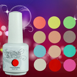 Wholesale Gelish Nail Polish 12pcs - 100% Brand New Gelish Nail Polish Soak Off Nail Gel 403Colors 15ml 12Pcs lot 15ML Factory Wholesale