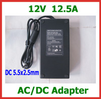 Wholesale Dc Atx Power Supply - 12V 12.5A 150W 5.5x2.5mm   5.5*2.5mm Power Supply Adapter for PICO BOX DC-ATX PSU HTPC Mini PC for 5050 3528 SMDLED Light