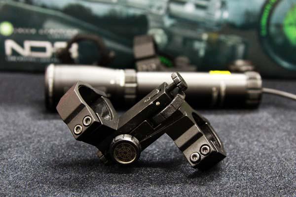 Tactical Green Laser ND3 x40 Light Designator with Adjustable Scope Mount