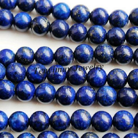 Envío gratis 16mm Lapis Lazuli cuentas para la fabricación de joyas Venta al por mayor 2 hilos / strand Lazurite Beads