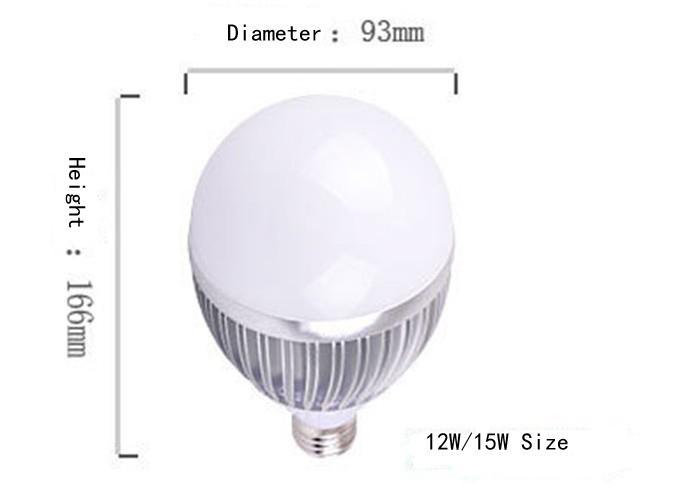 Бесплатная доставка сверхновой продажи 15 Вт светодиодные лампы внутреннего освещения 15 Вт замена ламп накаливания с 3-летней гарантией