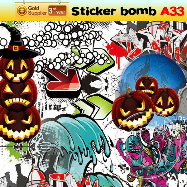 Stylish Car Stickers Newest Car Hellaflush Graffiti Sticker - Free promotional custom vinyl stickers