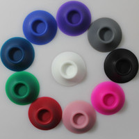 Wholesale Ce5 Base - Display Silicone Sucker for e cigarette base hold bracket for ego ce4 ce5 vivi nova electronic cigarette ego t EVOD vision spinner battery
