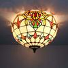 Glass Ceiling Lights stylish minimalist style living room bedroom lamp DIA 40 CM H 23 CM