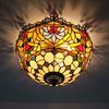 Glass Ceiling Lights European and American style living room bedroom lamp DIA 40 CM H 21 CM