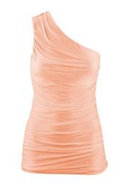 Wholesale Women Black Tank Tops Wholesale - Free shipping New style Draped Shoulder Slim stretch Tank Tops