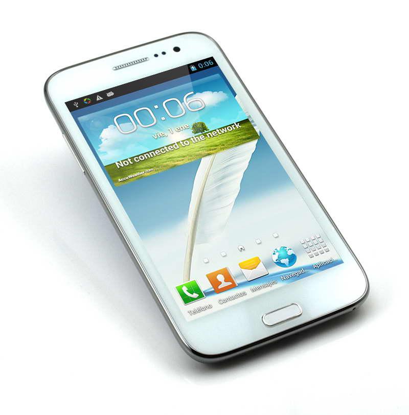 Android 4.2 GPS WIFI MTK6575 Quadri-bande Double SIM Dual Core F7100 3G Smart Mobile Téléphone portable
