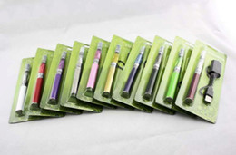 Wholesale Ego K Blister - Ego K CE4 kit 650mah battery Electronic Cigarette Blister Pack one cigarette with USB charger various colors in stock