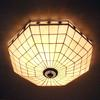 Glass Ceiling Lights European modern minimalist style living room bedroom balcony creative lamp DIA 60 CM H 20 CM