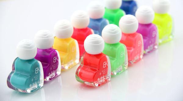 Luminous Nail Polish Neon Color Club Nails Glow In Dark Nail Enamel ...