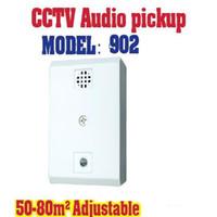 ingrosso telecamera audio mic cctv-902 Sensibilità quadrata Preamplificatore 20-60m2 Microfono regolabile Audio CCTV Microfono Sound Monitor per telecamera CCTV