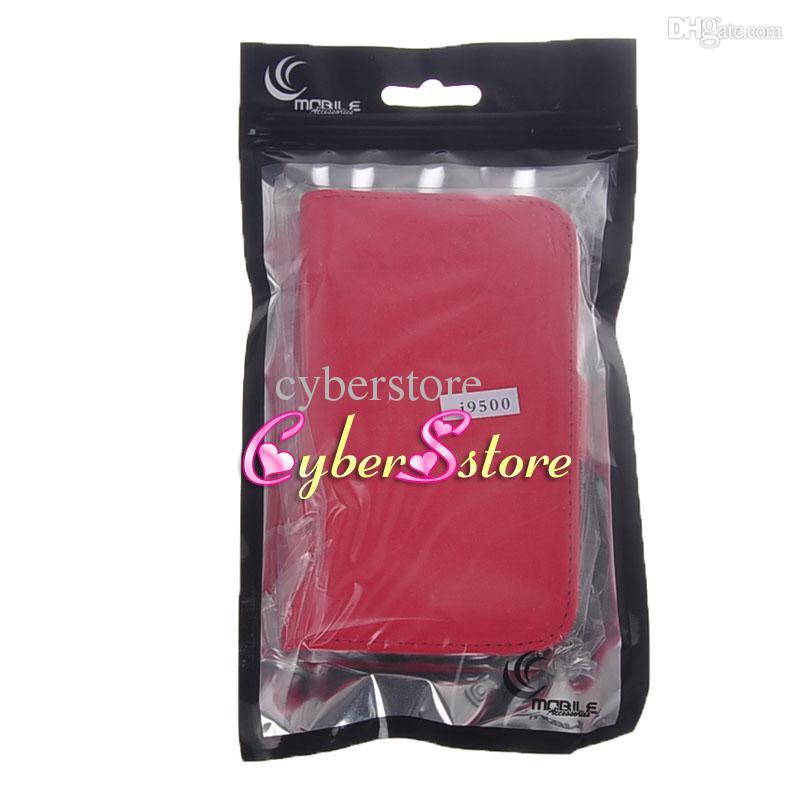 4 Szie Büyük Boy Perakende Paket Kılıfı OPP Poli Plastik Toz Geçirmez Çanta Cep Samsung Galaxy S8 iphone 7 5 Kılıf Kapak