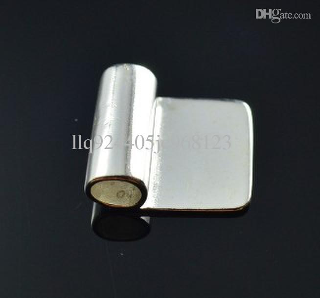 アパーチャ:5mm、10 * 17mm Xiaopingバックルシルバーめっきペンダント接着剤、ペンダントのための保釈金