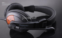 Wholesale Headband Cost - Wholesale - Cost-effective stereo computer headphone game headsets CT-760 for CS CF with retail box Free shipping