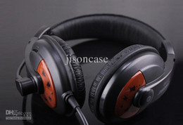 Wholesale Headphones Games - stereo computer headphone game headset earphones CT-760 with retail box Free shipping