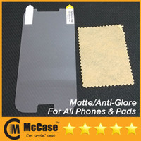 Wholesale Screen Protector Iphone5 Matte - 500pcs High Quality Anti-Glare Matte Screen Protector Protectors For iphone5 iPhone 6 5 5S 5C 4 4S Galaxy S5 S4 S3 NOTE 3 2 HTC ONE M7