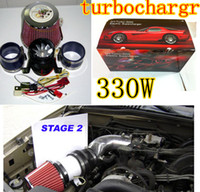 Wholesale Electric Wheels Kit - Turbo-5000 Electric Supercharger 330W Electric turbocharger kit Metal wheel (two Motor ) Factory Price have in stock