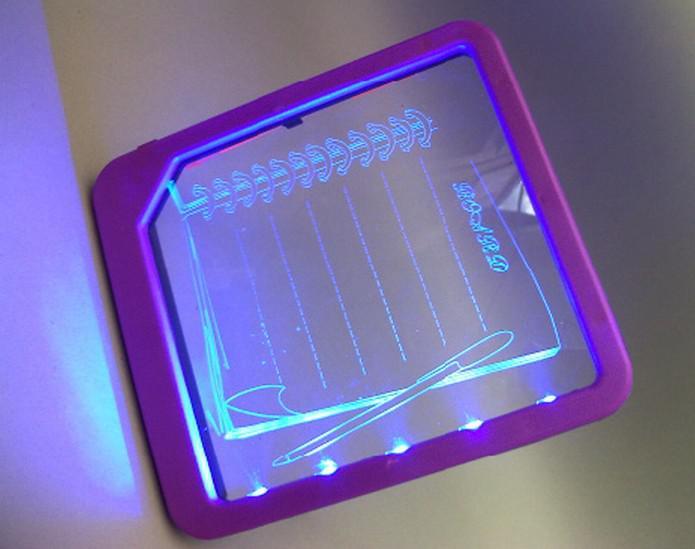 Panneau de message lumineux LED Panneau d'affichage LED panneau d'écriture Lumière / par Fedex Livraison gratuite