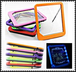 venda por atacado Placa de mensagem de luz LED Display LED placa de mensagem placa de escrita Luz 50 pçs / lote por Fedex Frete grátis