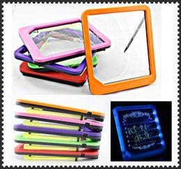 Wholesale Light Write Board - LED light message board LED Display message board writing board Light 50pcs lot by Fedex Free shipping