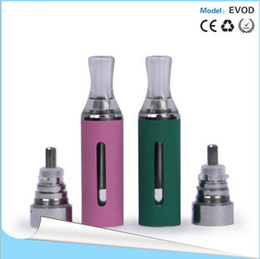 Wholesale Evod Cartomizer Dhl Free Shipping - New arrival E-cig EVOD clearomizer vaporizer cartomizer clearomizer EVOD E cigarette clearomizer for ego colorful free shipping DHL