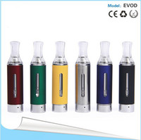 Wholesale Evod Cartomizer Dhl Free Shipping - Newest E-cig EVOD cartomizer vaporizer cartomizer clearomizer EVOD E cigarette clearomizer for ego colorful free shipping DHL