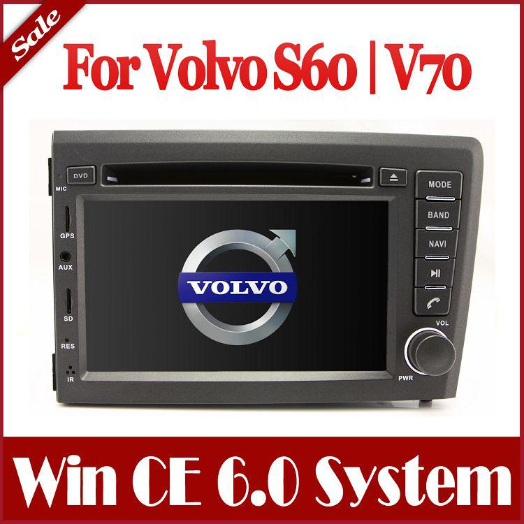 head unit auto radio car dvd player for volvo s60 v70. Black Bedroom Furniture Sets. Home Design Ideas