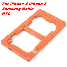 Wholesale Galaxy S3 Lcd Repair - LCD Repair Gluing Mold LOCA Alignment Mould Mold for iPhone 5 iPhone 4 Samsung Galaxy S3 S4 Note 2 Nokia 900 HTC ONE