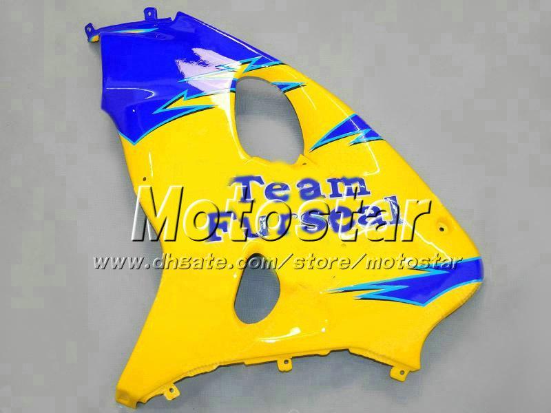 7Gifts ABS blue yellow black motorcycle fairings for SUZUKI TL1000R 98-03 freeship fairing kit TL 1000R 1998 1999 2000-2003 body fairing