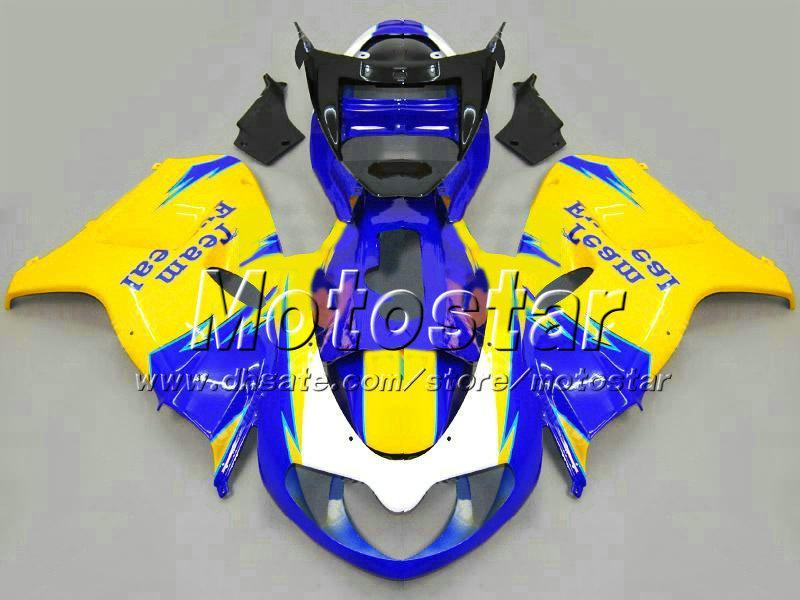 7Gifts ABS blau gelb schwarz Motorradverkleidungen für SUZUKI TL1000R 98-03 Freeship Verkleidungssatz TL 1000R 1998 1999 2000-2003 Karosserieverkleidung