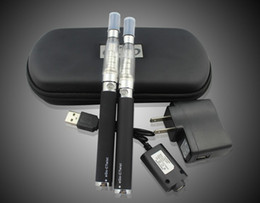 Wholesale Ego Double Twist - Ego C Twist 650-1100 mAh Double Starter Kit of 3.2V-4.8V CE4 CE5 tanker with Travel Case Charger Super Quality