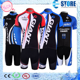 Wholesale Cycling Jersey Set Giant - Hot Selling!GIANT Cycling Jersey,4 kinds bike jersey Cycling Clothing sets Giant Style Jersey M