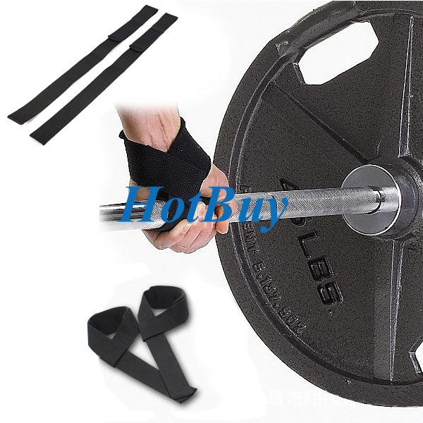 Padded Gym Bodybuilding Exercise Training Weight Lifting Hand Wrist Bar Support Strap Brace Wrap #2664