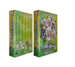 """Wholesale Chinese Movies Wholesale - Best Chinese dvd movies TV series """"Xiyangyangyuhuitailang"""" region 1 region free fitness dvd workout boxset animation movies DHL Free Ship"""