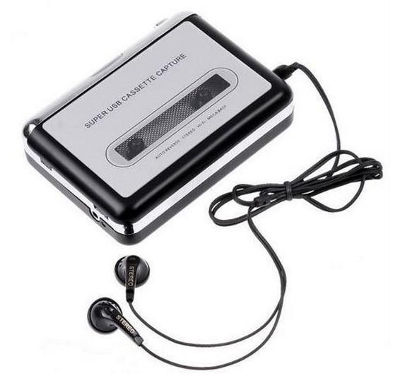Горячий USB кассетный захват рекордер радио плеер, лента для ПК супер Портативный USB кассета для MP3 конвертер