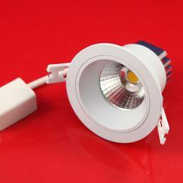 Wholesale Downlight Set - Hot Sale (12pcs lot) 12W 10W cob led downlight, 1000lm, 85-265v,living room set under cabinet led lighting recessed lighting