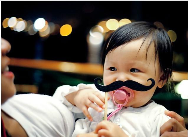 New Design 50 Styles Funny Photo Booth Props Lips Moustaches Glasses Hat on Sticks for Wedding and Party Shoot Props Decoration